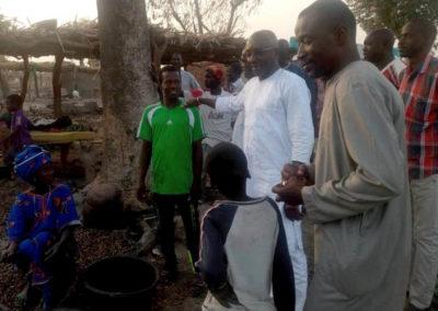 LA SODEFITEX soutient les populations sinistrées du village de Simbane Mamadou 2