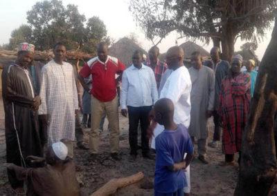 LA SODEFITEX soutient les populations sinistrées du village de Simbane Mamadou 3