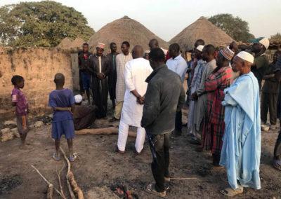 LA SODEFITEX soutient les populations sinistrées du village de Simbane Mamadou 4