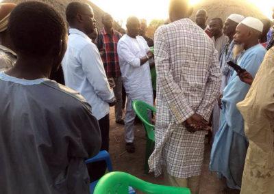 LA SODEFITEX soutient les populations sinistrées du village de Simbane Mamadou