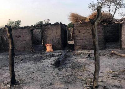 LA SODEFITEX soutient les populations sinistrées du village de Simbane Mamadou 5