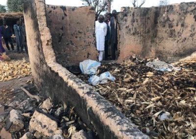 LA SODEFITEX soutient les populations sinistrées du village de Simbane Mamadou 6