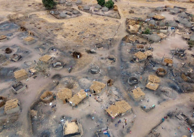 LA SODEFITEX soutient les populations sinistrées du village de Simbane Mamadou 7