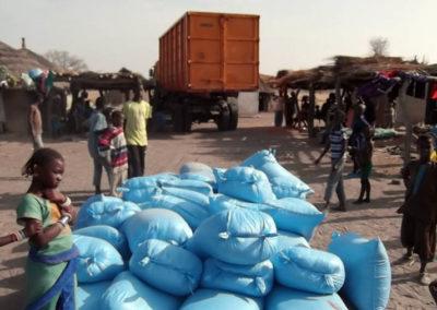 LA SODEFITEX soutient les populations sinistrées du village de Simbane Mamadou 8